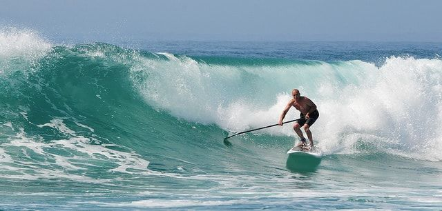 paddle surf en cala tarida