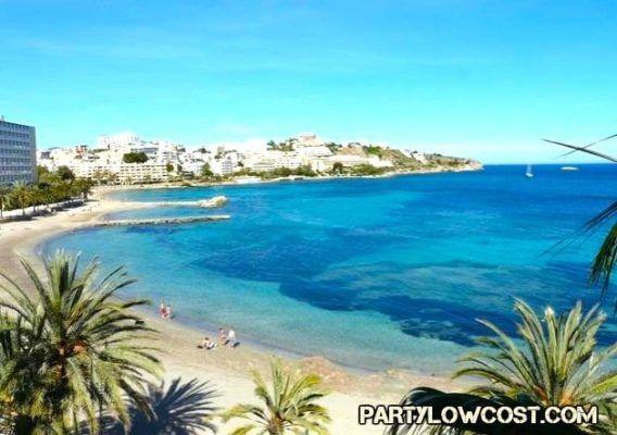 Playa de figueretes Ibiza