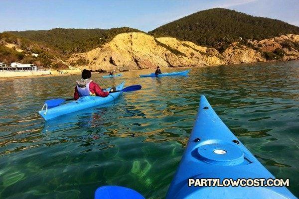 ibiza aguas blancas kayak