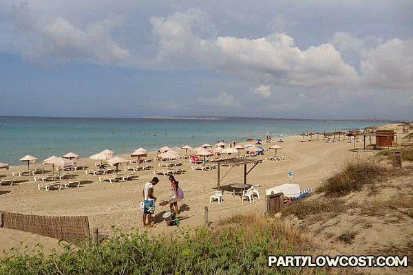 playa els arenals formentera