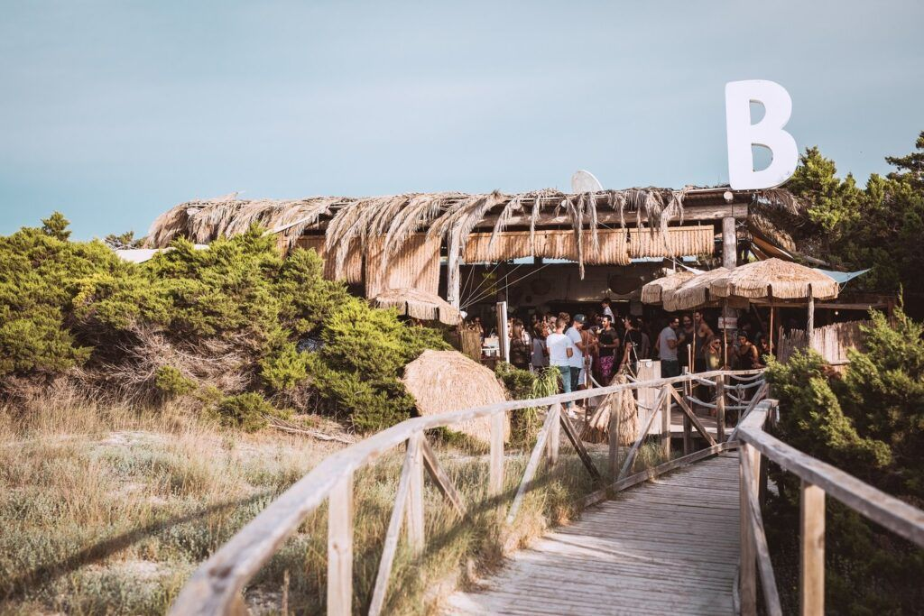 Beso beach club ibiza
