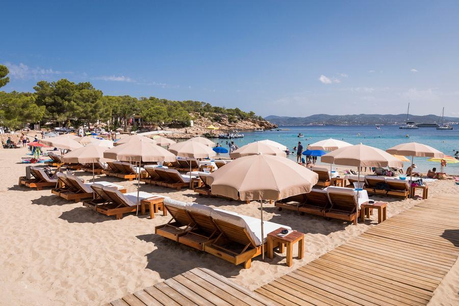 Beach club ibiza