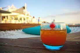 The Happy Beach Cebu Sandbeds Drink