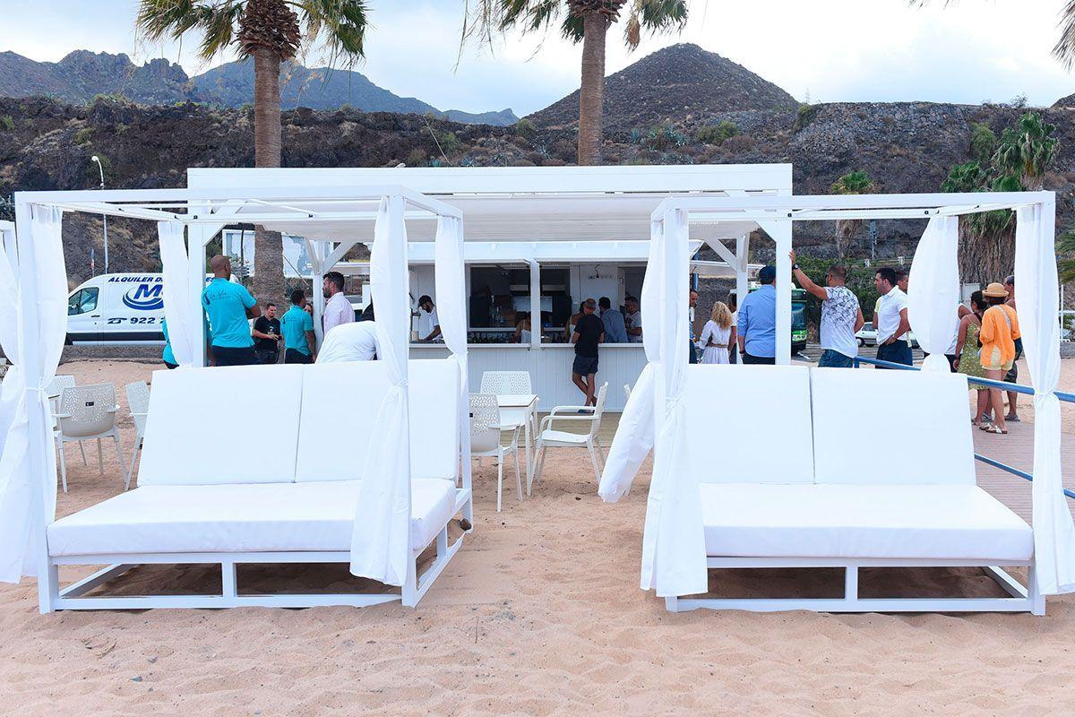 El caracol Beach Club Tenerife Sandbeds 2