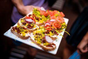 City Beach Club Kiev Sandbeds Food