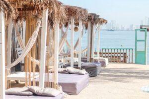 Namaste Beach Club Sandbeds