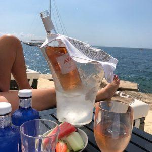 Blanco Beach Club Sandbeds Drink