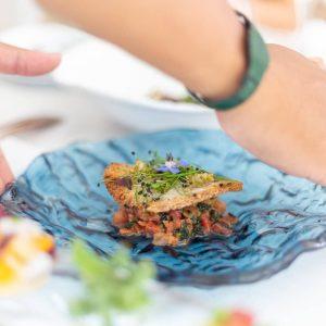 Bless Ibiza Sandbeds sabores mediterraneos