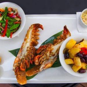 Blue Marlin Mykonos Sandbeds Food
