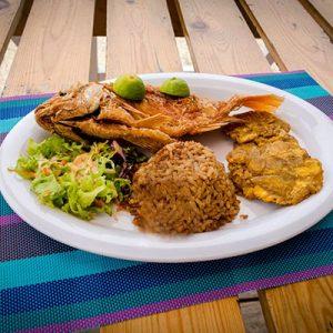 Bomba Beach Sandbeds Food