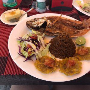 Bora Bora Cartagena Sandbeds comida
