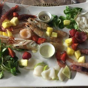 Cala Felice Beach Club Sandbeds Food