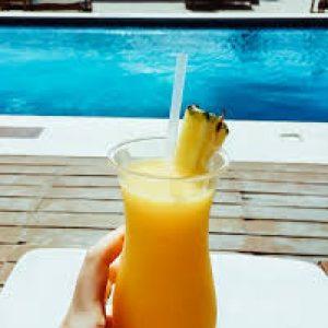 Chicabal Cancun Sandbeds Drink