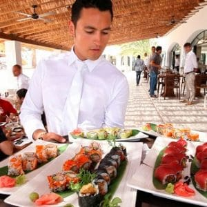 Destino Ibiza Sandbeds Food