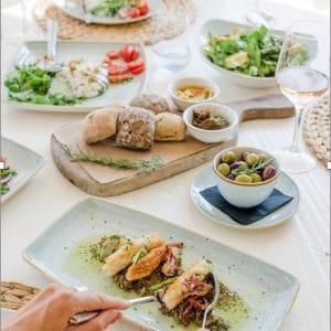 Mediterranean cusine nobu sandbeds