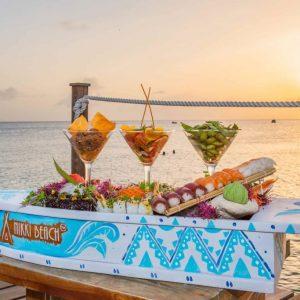 Nikki Beach Barbados Sandbeds Food
