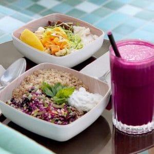 W Ibiza Sandbeds food